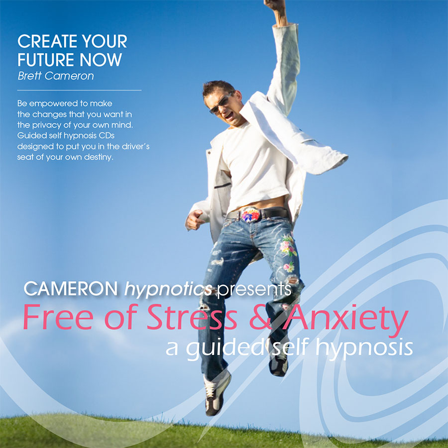 Free of Stress and Anxiety - A Guided Self Hypnosis - Cameron Hypnotics, Newcastle