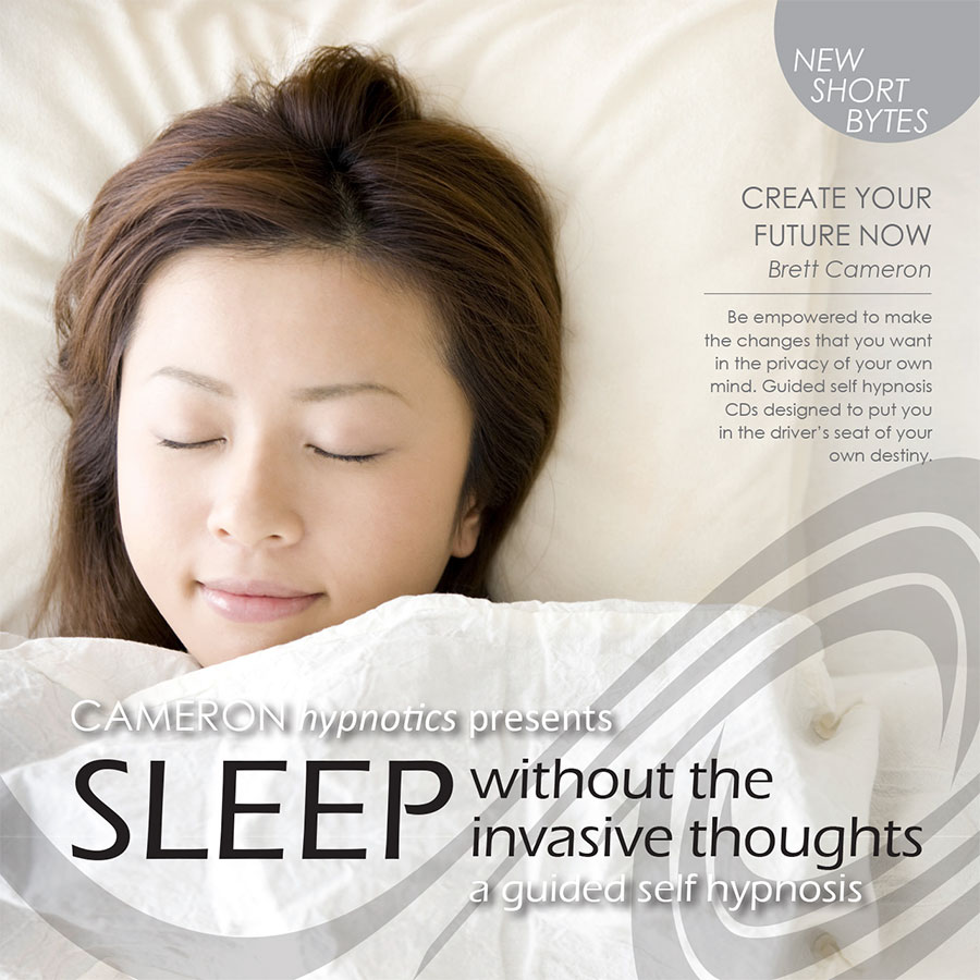 Sleep Without Invasive Thoughts - A Guided Self Hypnosis - Cameron Hypnotics, Newcastle