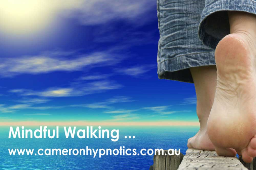 Cameron Hypnotics, Newcastle Hypnotherapy, Mindful Walking