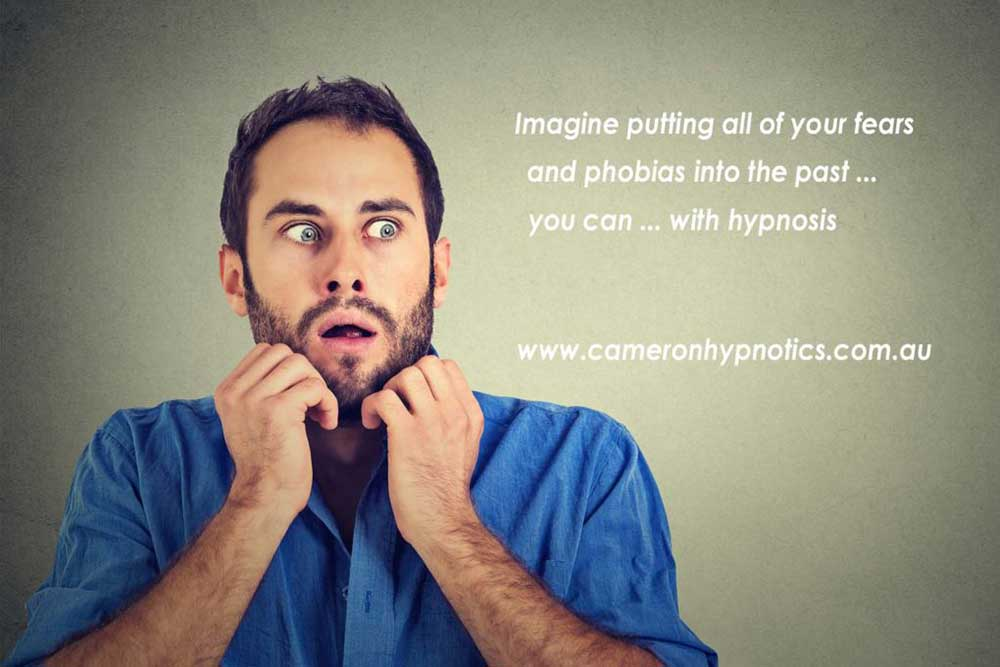 Cameron Hypnotics, Newcastle Hypnotherapy, Imagine a life without fears and phobias