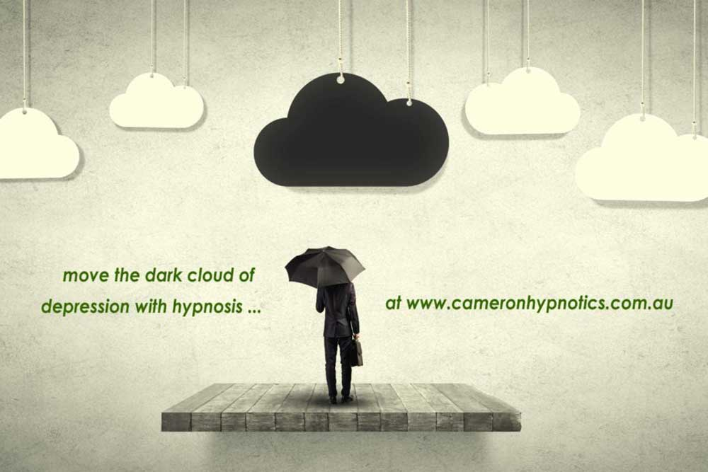 Cameron Hypnotics, Newcastle Hypnotherapy, Lift the dark clouds of depression