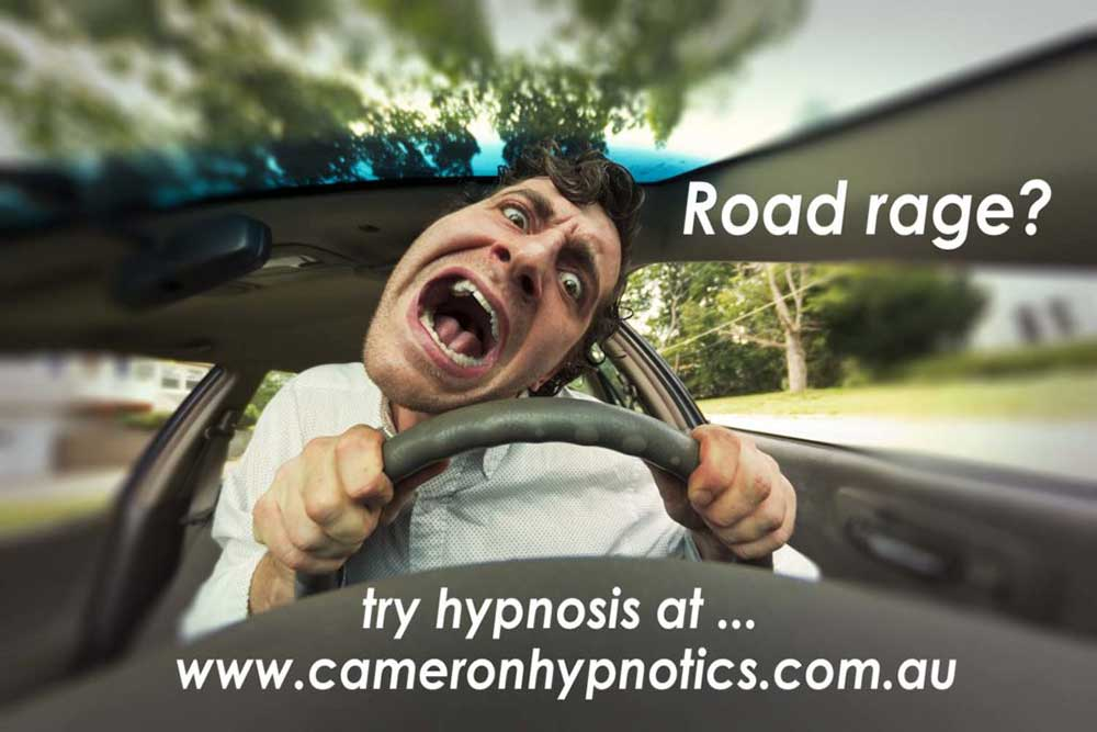 Cameron Hypnotics, Newcastle Hypnotherapy, Dealing with Road rage