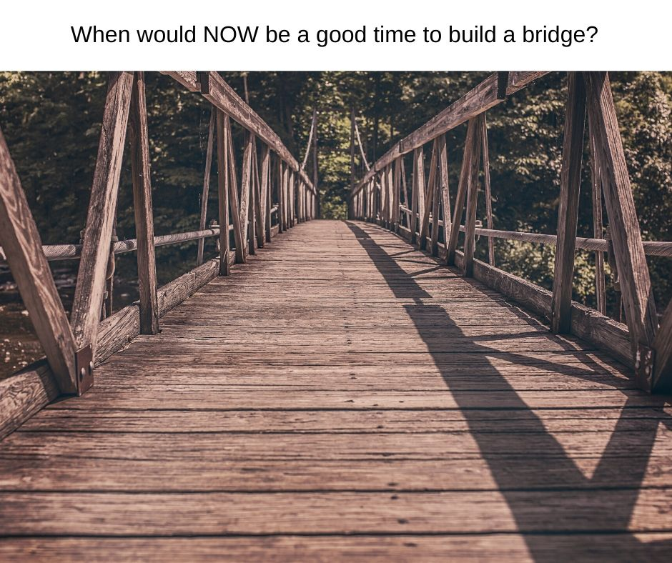 Building Bridges and repairing the past